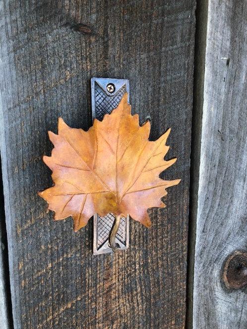 Maple leaf door  knocker