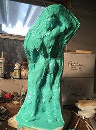 Silicon rubber mold