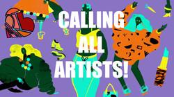 Articulate newsletter Artist Call