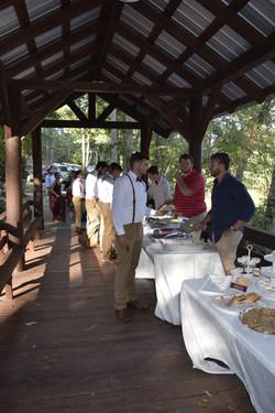 Reception at Covered Bridge