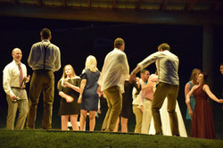 Dancing at the Ampitheater