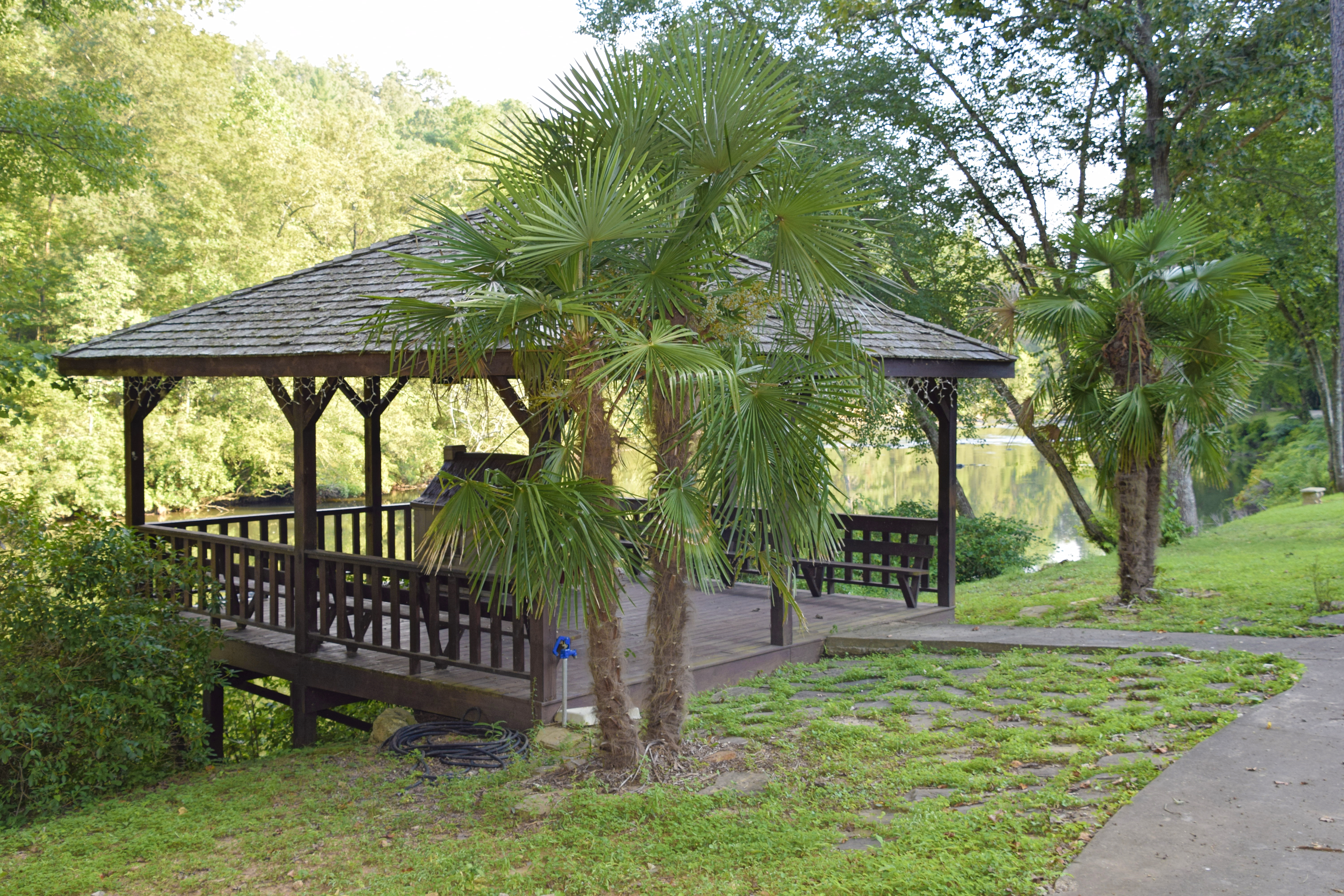 Gazebos on the River at River Park