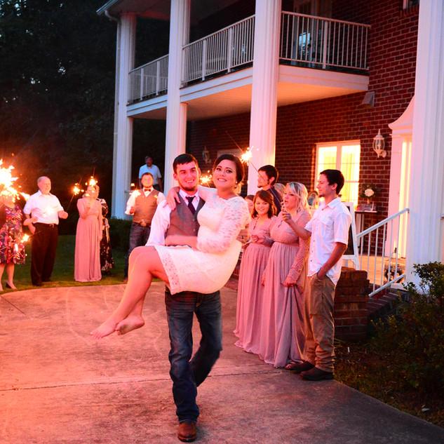 River Park Waterfront Weddings in North Georgia Bride and Groom