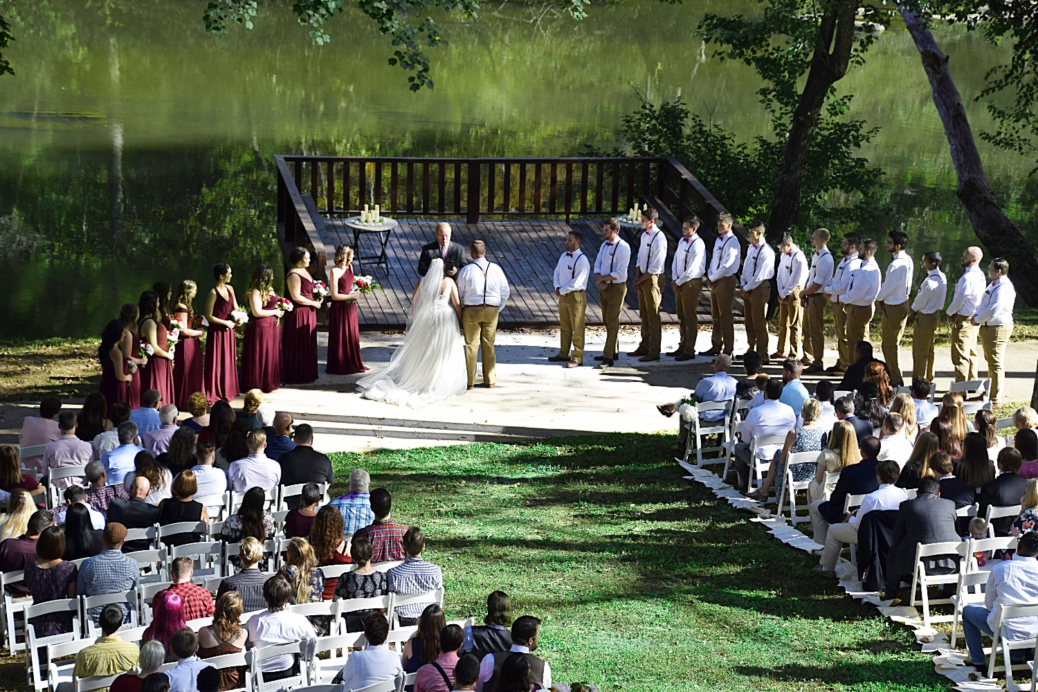 Wedding at River Park