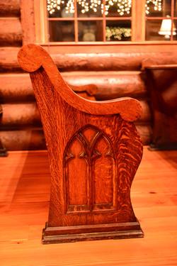 Hand-Carved Antique Pews