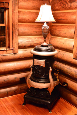 Antique Potbelly Stove Heater