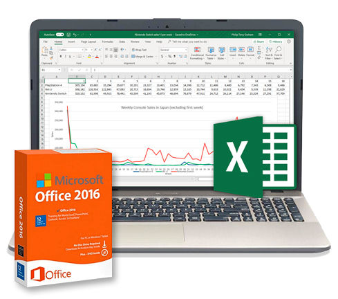 Microsoft Office 2016- Excel