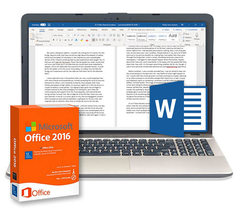Microsoft Office 2016 - Word