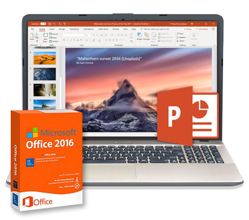 Microsoft Office2016 - PowerPoint