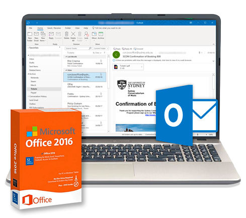 Microsof Office 2016 - Outlook