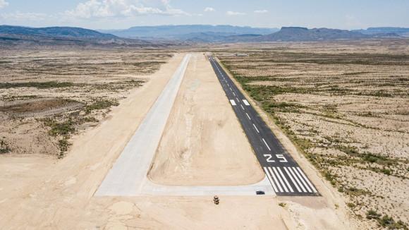 New Runway at Lajitas Airport