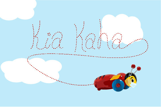 Bee Strong - Kia Kaha