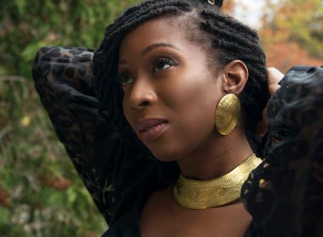 Portrait | Myrbelle Vincent X Élégance Noire | Une entrepreneure passionnée