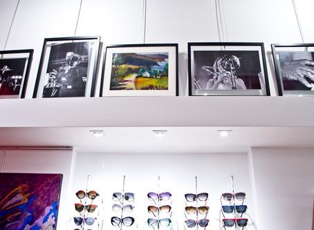 Une première pour moi : Mes photos exposées chez Georges Laoun Opticien, à l'occasion du Mois de