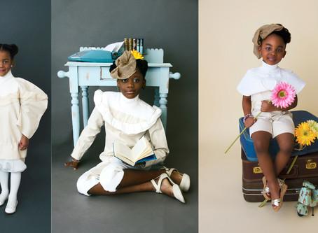 Mes photos dans une exposition mettant en valeur la beauté des enfants noirs