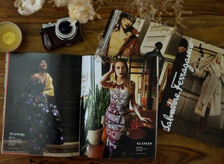 Un tout premier édito de mode pour le magazine Nuances
