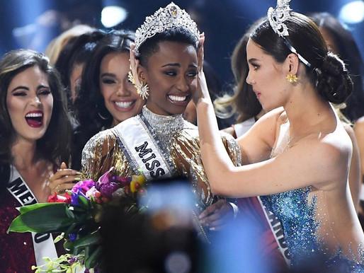 Zonzini Tunzi foi coroada como Miss Universo 2019