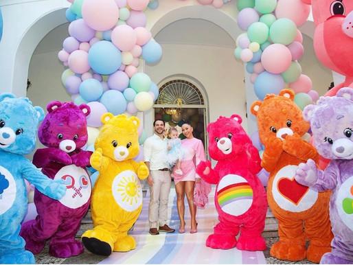 Sabrina Sato e Duda Nagle com mini fashionista Zoe em sua primeira festa