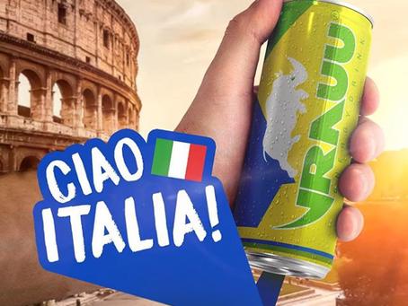 ''VRAUU'' ESTÁ CHEGANDO NA ITÁLIA