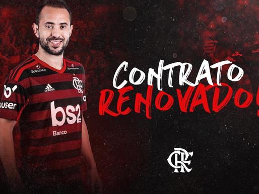Flamengo renova com Everton Ribeiro até o fim de 2023