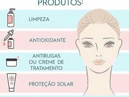 Para manter a pele bonita e saudável é preciso seguir a ordem certa de aplicação dos produtos!