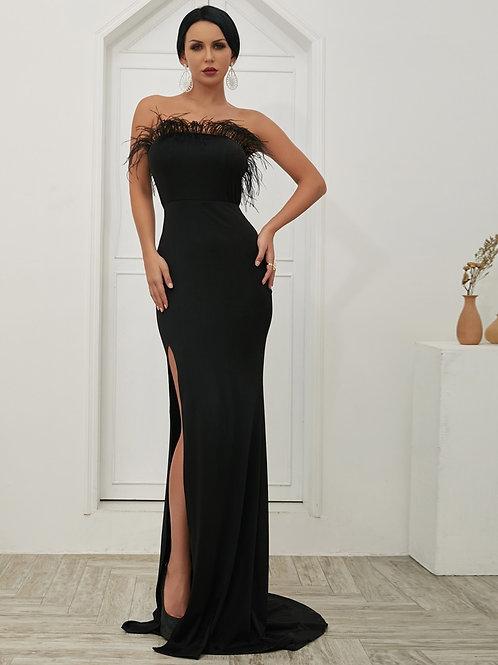 Vestido noite glamour