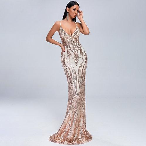 Vestido Jazmyn Gold