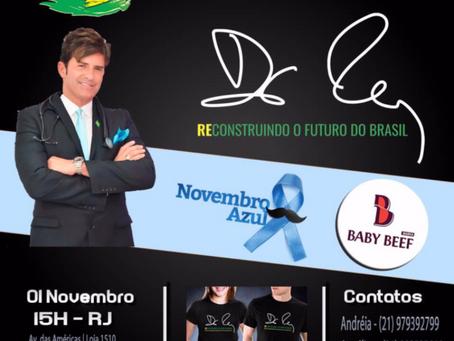 CHÁ DA TARDE COM DR. REY NA BARRA-RJ