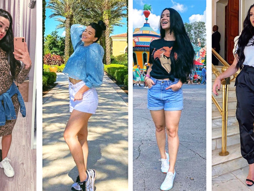 Leticia Saar e sua paixão pelo estilo streetwear.