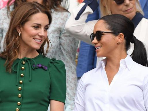 Kate Middleton e Meghan Markle:  As influentes mais badaladas na internet