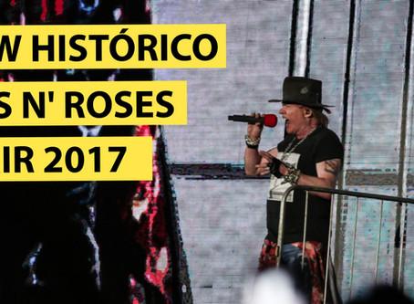 GUNS N' ROSES NO ROCK IN RIO 2017