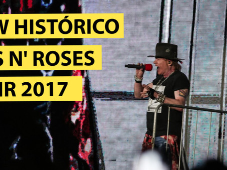 GUNS N' ROSES NO ROCK IN RIO 2017