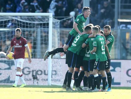 Atalanta massacra Milan e impõe maior goleada à equipe em 21 anos