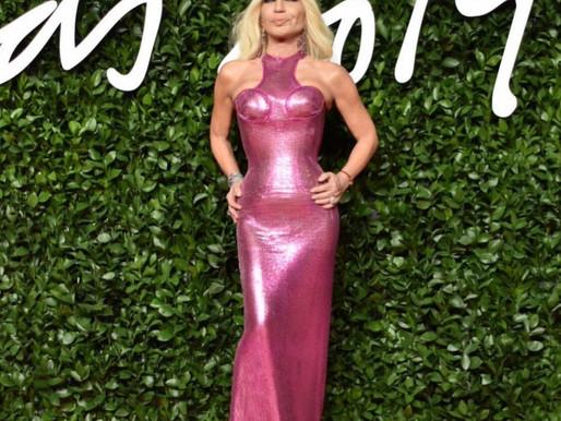 Look de Donatela Versace para Fashion Awards 2019