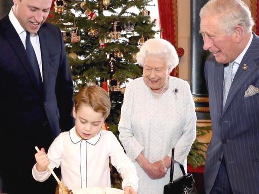 Principe George com a mão na massa