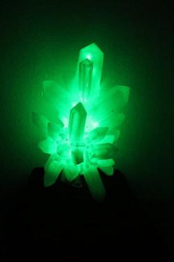 Urethane LED Crystal Sculpture