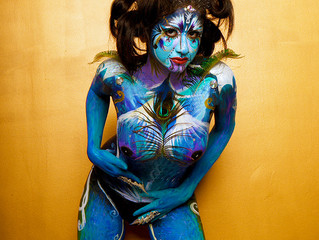 How I started Body Painting People