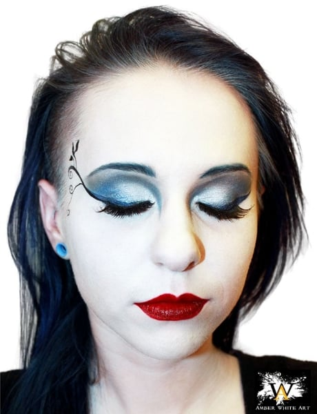 Gothic Night Club Makeup