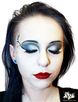 Gothic Night Club Makeup