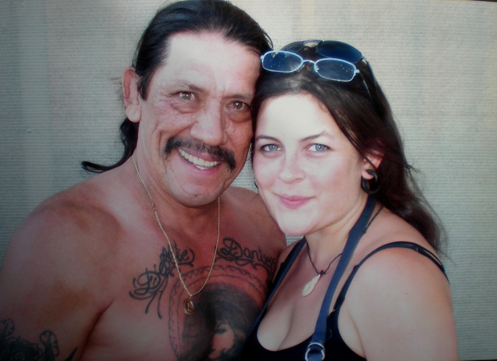 Danny Trejo On a feature called Necessary Evil (Assistant Mkp Artist)