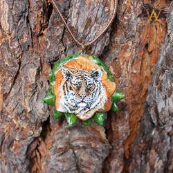 Tiger AwA Pendant