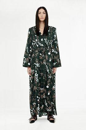 SAKURA PRINTED LONG DRESS