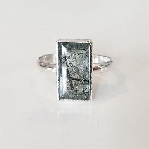 Rutilated Quartz Cocktail Ring