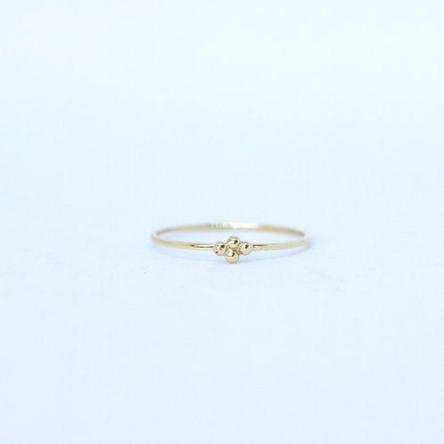 Clover Stacking Ring