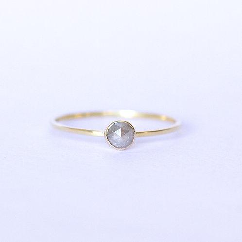 Nadia Rose Cut Diamond Solitaire
