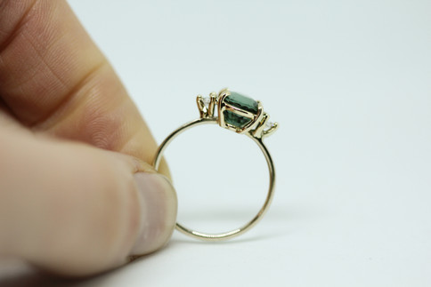 Bespoke Tourmaline Engagement Ring