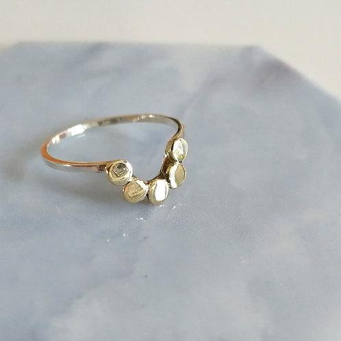 Chloe Semi Halo Ring