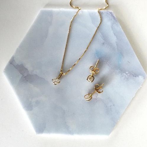 Aria Diamond Solitaire Pendant