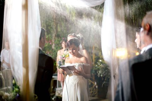 Romantic Evening Ceremony
