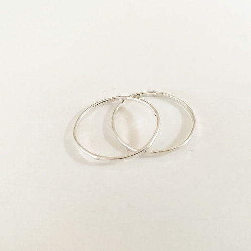 unique handcrafted sterling silver stacking rings Jerusalem Israel